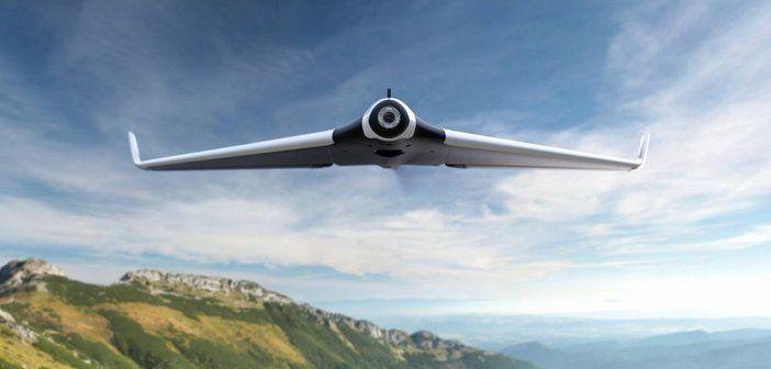 Drone Parrot Disco : 45mn à 80km/h