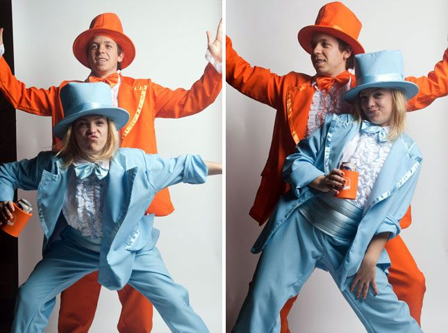 simple couples halloween costumes - Simple And Creative Halloween Costumes