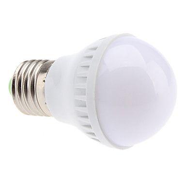 E27 2W 21x5050smd 110lm 2700K varmvitt ljus ledde bollen glödlampa (220-240V) – SEK Kr. 38