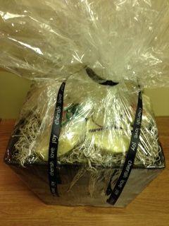 All Natural Gift Basket containing lip balms, soap, massage bars & bath bombs. Donated by Shauna Lynn, RHN, RCHP. Retail value $80.00.