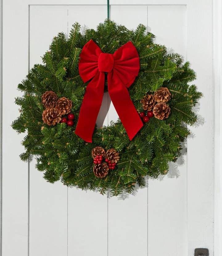 L.L.Bean Traditional Christmas Balsam Wreath #Christmas # ...