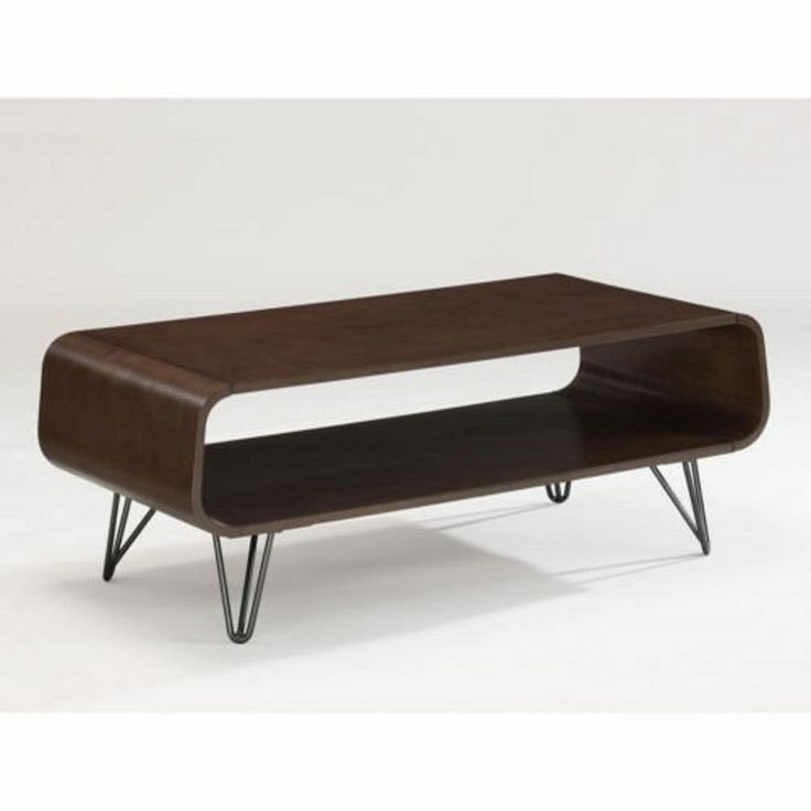 Coffee Table Retro Cocktail Vintage Danish Modern Storage