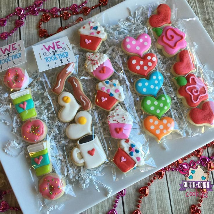 Mini Decorated Sugar Cookies