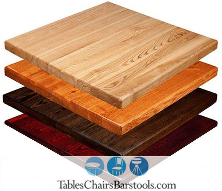 "Available in one of four stains or painted black, this 30"" X 42"" restaurant table top is made of red oak, featuring a classic grainy look.  At just 1"" thick, it's a less expensive alternative to our best selling solid wood table tops.    Lead time: 7 - 10 daysItem Number: TCB-W-REDOAK-ECON-3042"