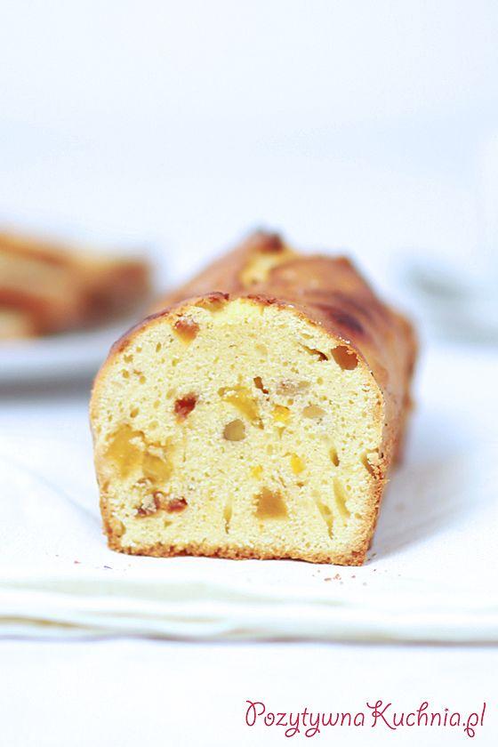 Najlepszy #keks czyli #ciasto na #wielkanoc lub #wigilia, z bakaliami, pięknie wyrośnięte i delikatne.  http://pozytywnakuchnia.pl/keks/  #przepis #kuchnia