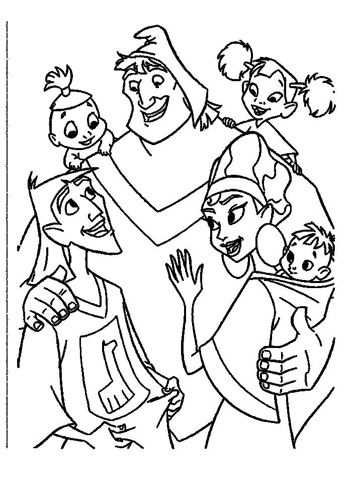 14 best Emperoru0027s New Groove Coloring Pages images on Pinterest - new dltk coloring pages alphabet