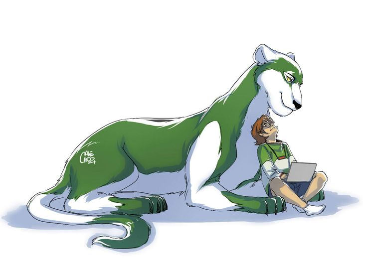 Pidge and her realistic Green Lion from Voltron Legendary Defender