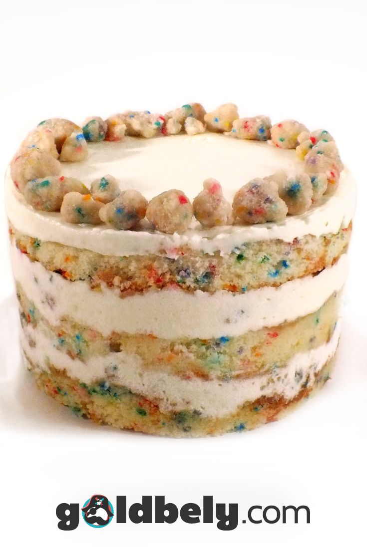 Gifts just won't be the same after you ship someone one of these incredible cakes from Momofuku Milk Bar.   Marked by it's unfrosted sides to highlight all the delicious fillings layered inside, this moist birthday cake is the ultimate nostalgic experience: all the funfetti taste, soaked in milk, and topped with a crunchy rainbow sprinkle crumble.