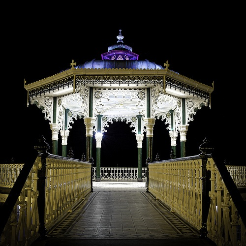 Bandstand by night