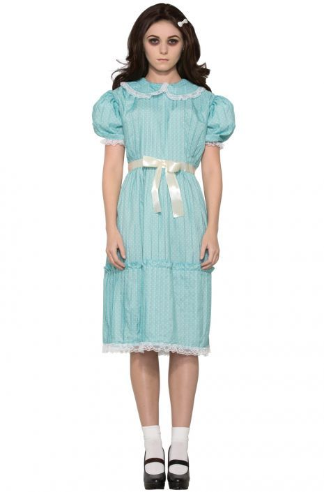 Blue dress from the shining characters