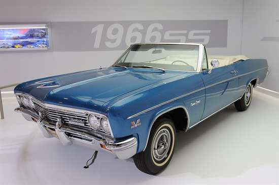 1966 Chevy Impala. My first car. Mine was Marina Blue but not a convertible