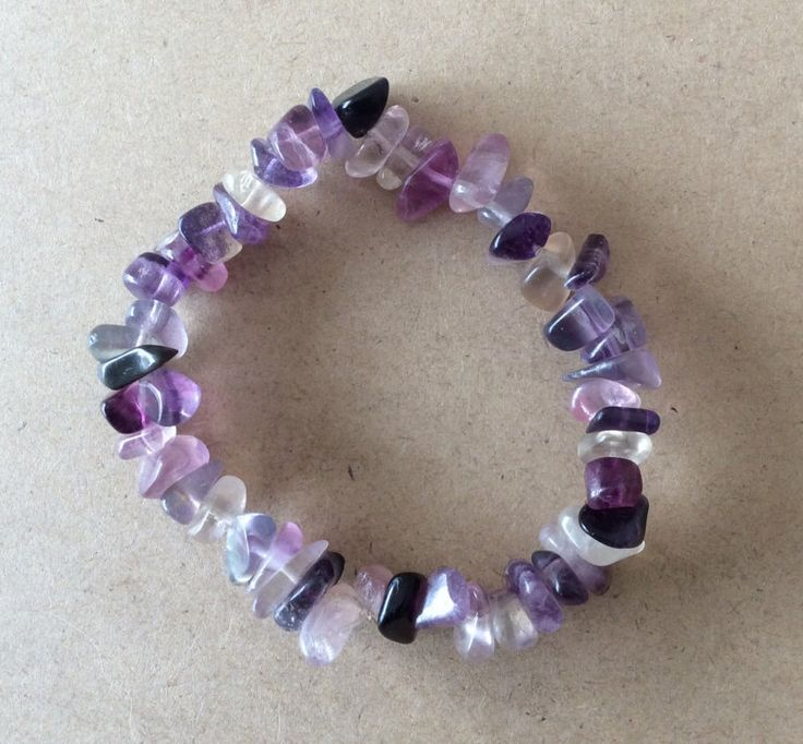 A personal favorite from my Etsy shop https://www.etsy.com/au/listing/294661539/fluorite-chip-bead-bracelet-includes