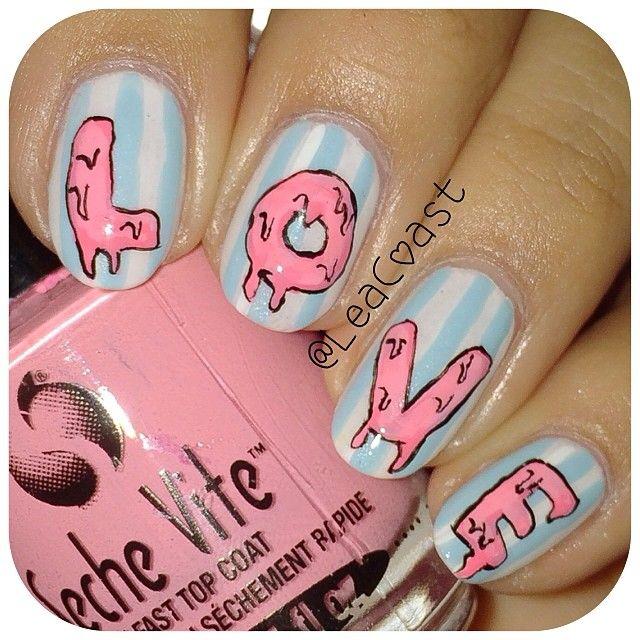 VALENTINE by leacoast  #nail #nails #nailart
