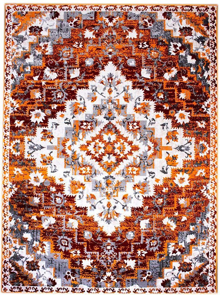 Best Buy 8 X 10 Area Rug Burnt Orange Southwestern Diamond Rug 400 x 300