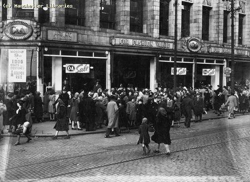 C&A Manchester 1948