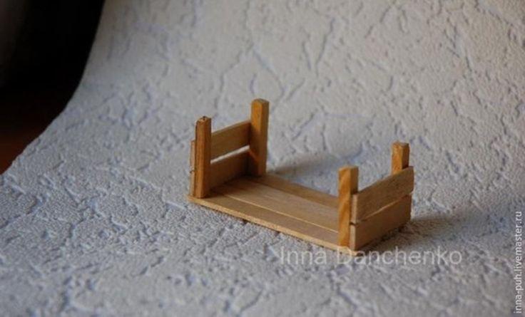 Caixa de feira feito com palito de picolé passo a passo