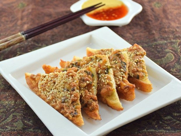 Thai shrimp toast