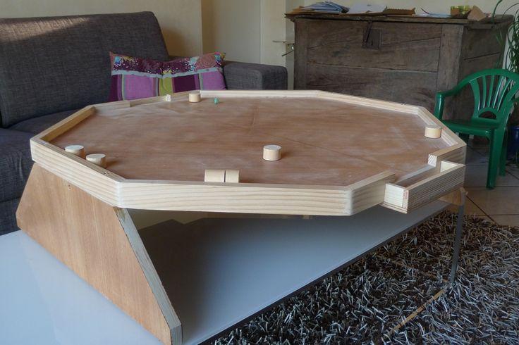 tuto pour fabriquer un jeu de foot de salon en bois games wooden board games wood games. Black Bedroom Furniture Sets. Home Design Ideas