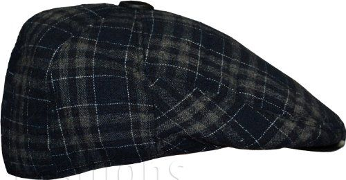 Mens Tweed Hats Country Peaky Blinders Flat Cap Big Check Pattern S2 Fashions http://www.amazon.co.uk/dp/B00I4URZW4/ref=cm_sw_r_pi_dp_prV2wb0SJK5FE