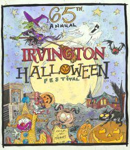 irvington halloween poster - Halloween Indiana