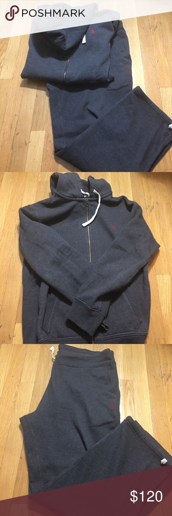Polo Ralph Lauren Sweatsuit Good condition. Pants Sz L: Sweatshirt XL Polo by Ralph Lauren Shirts Sweatshirts & Hoodies