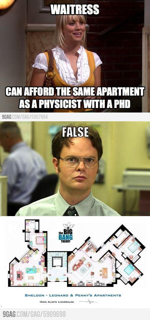 Same apartment? I don't think so