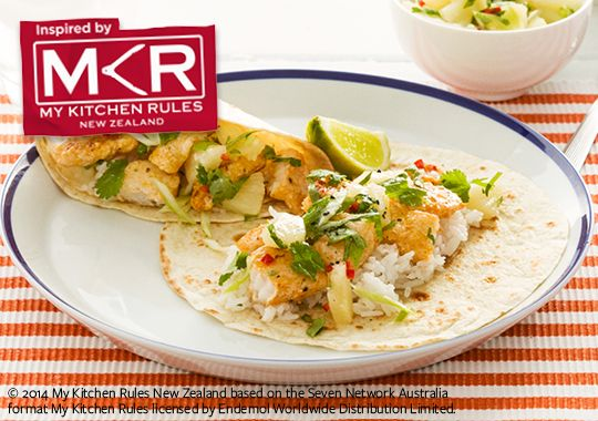 Free fish tacos with pineapple salsa recipe. Try this free, quick and easy fish tacos with pineapple salsa recipe from countdown.co.nz.