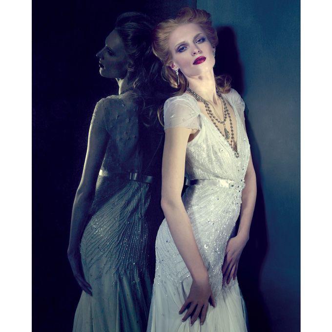 Art Deco Inspired Wedding Dresses