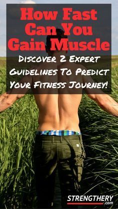 Discover how fast you realistically can gain muscle. Learn why some fat gain should be expected, and why it is actually optimal for muscle growth. Start your fitness journey today!
