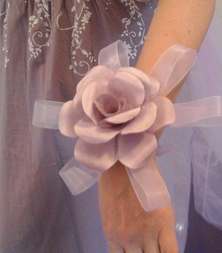 Wrist paper rose