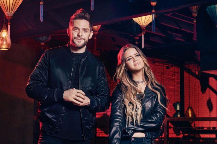 """American country music singer-songwriter Thomas Rhett has released a new song """"Craving You"""" with GRAMMY-winner Maren Morris."""