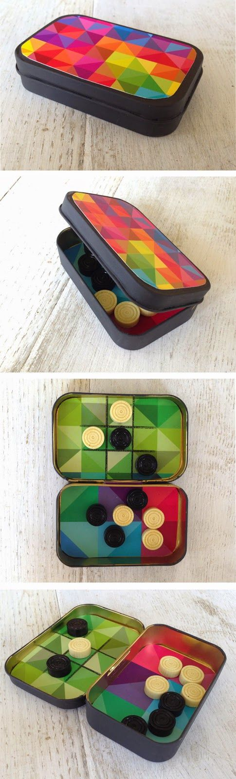 mommo design: IN A MINT TIN... Tic Tac Toe