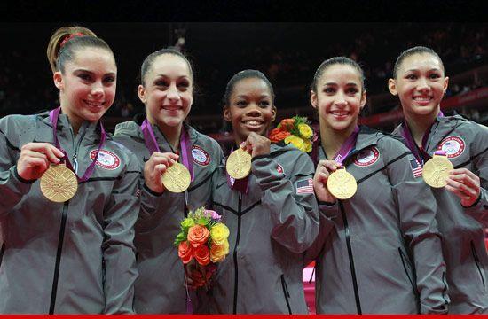 USA Crushes World -- Easily Wins Gold in Women's Gymnastics: Olympics Gold, Gabby Douglas, Gabrielle Douglas, Gold Medal, Jordyn Wieber, Mckayla Maroney, Gymnastics Team, Women Gymnastics, Team Usa