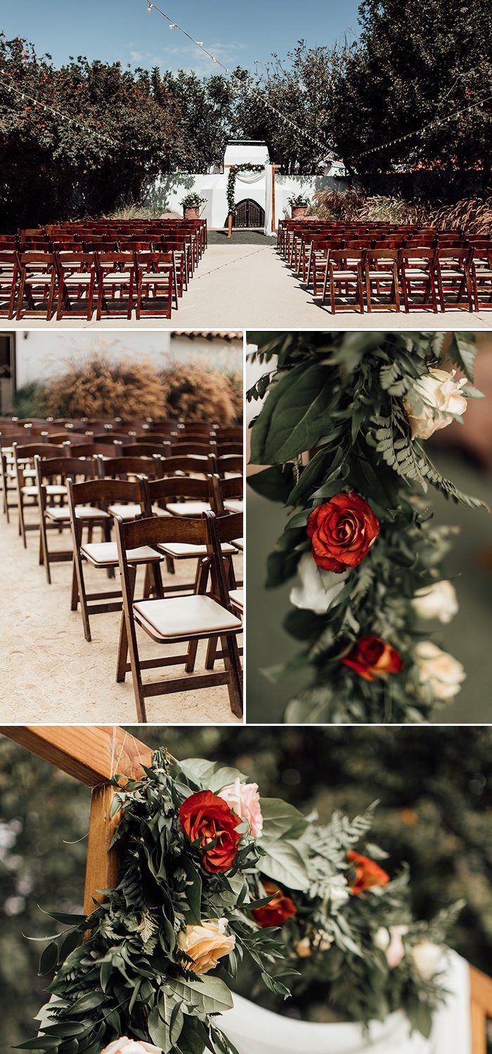 beautiful wedding locations in southern california%0A Bohemian Luxe California Wedding at Casino San Clemente