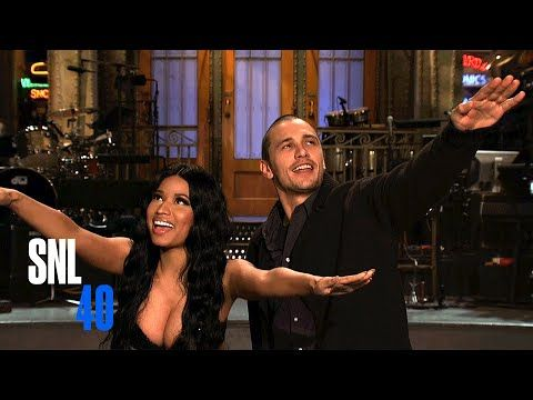 SNL Host James Franco and Musical Guest Nicki Minaj Are Besties