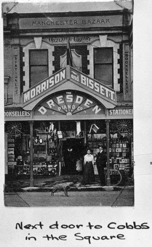 Morrison and Bissett - bookshop - Feilding Library