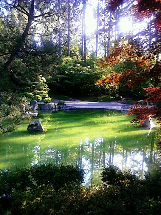 Manito Park. Spokane, Washington.