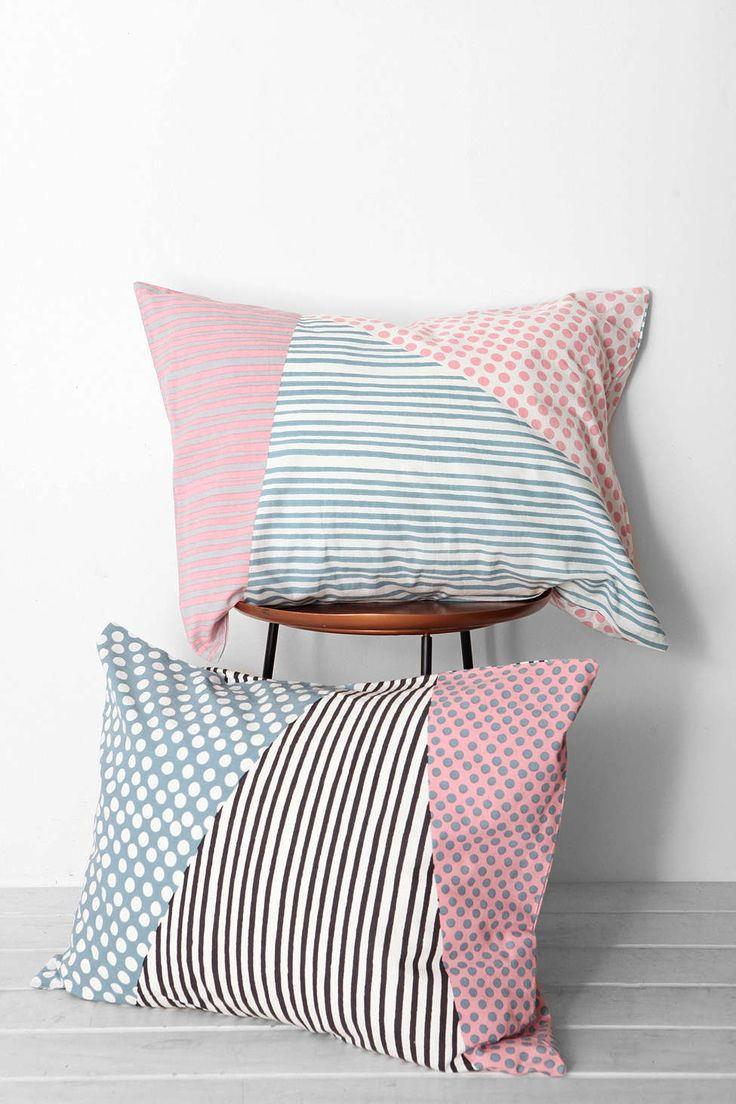 Home Outfitters Decorative Pillows : Assembly Home Helmi Geo Sham Set - Urban Outfitters //// these pillows are neat hey mom, i ...