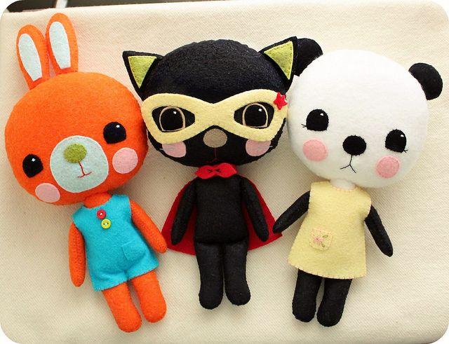 Handmade - plush toys