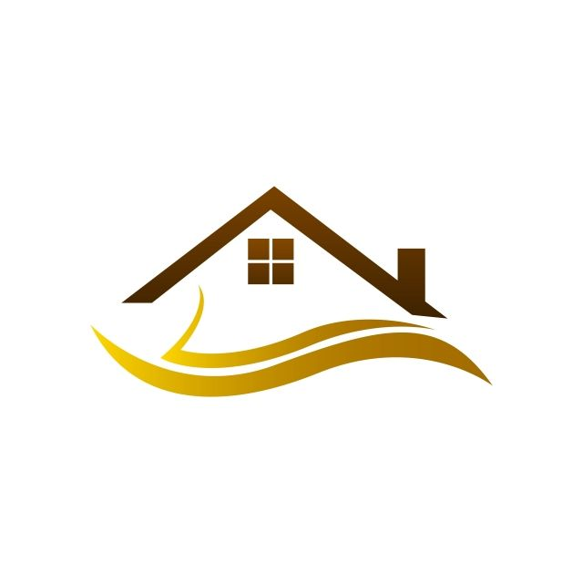 Real Estate Logo Home Logo House Logo Simple Design Logotipo