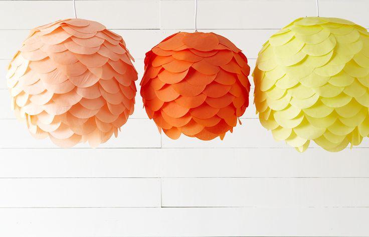 DIY for Diwali.. Paper lantern decorations