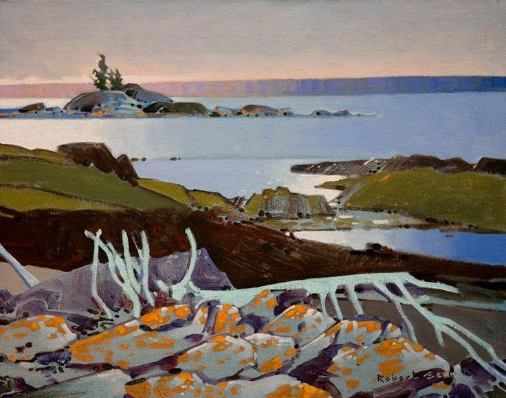 A Foreshore Pattern, Georgian Bay, by Robert Genn