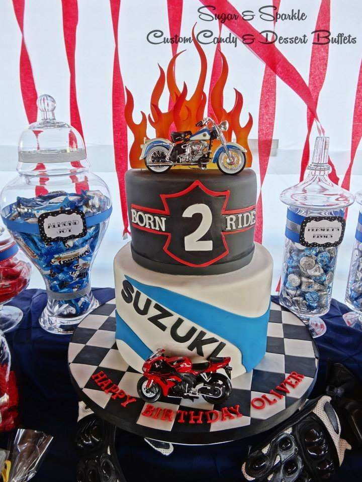 motorcycle Birthday Party Ideas   Photo 1 of 11   Catch My Party