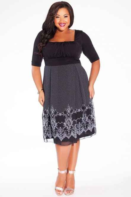 Igigi 3B503BBCK Черное Платье Hayleigh