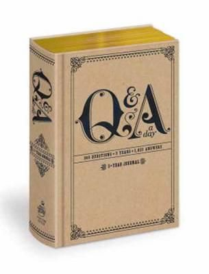 Q & A a Day : 5-Year Journal - Potter Style