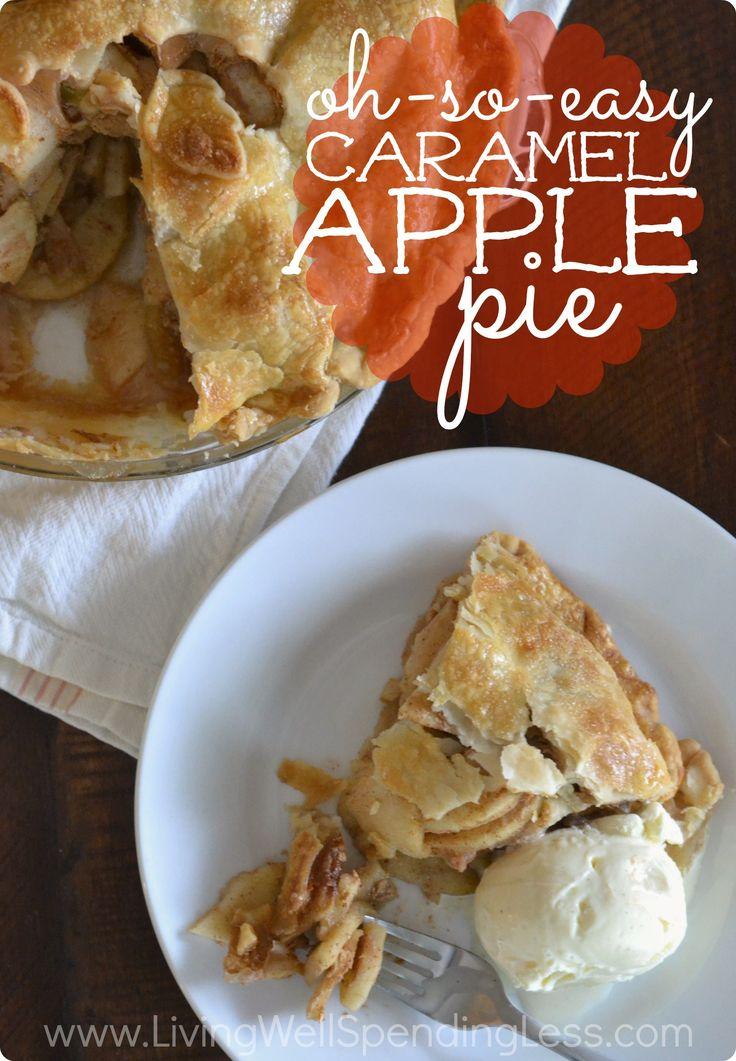 Oh-So-Easy Caramel Apple Pie