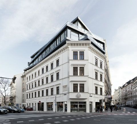 Margaretenstrasse 9: A New View On Historic Buildings Roofs