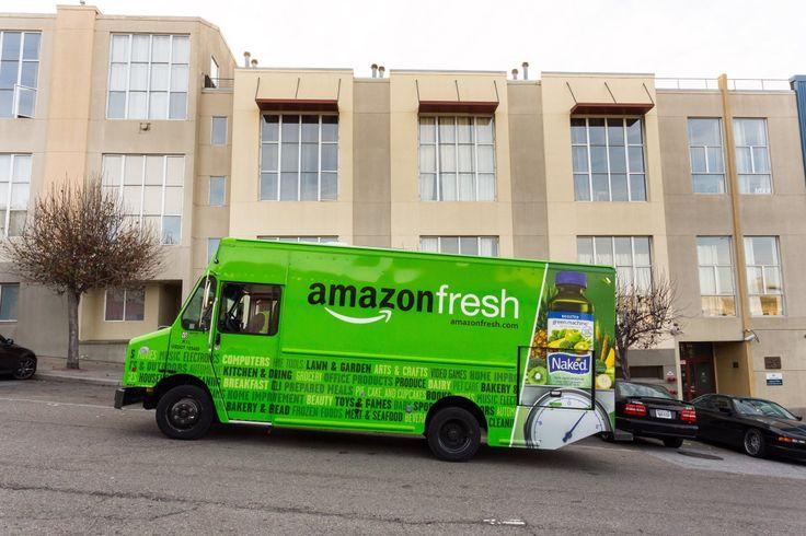 AmazonFresh delivery, San Francisco, CA.