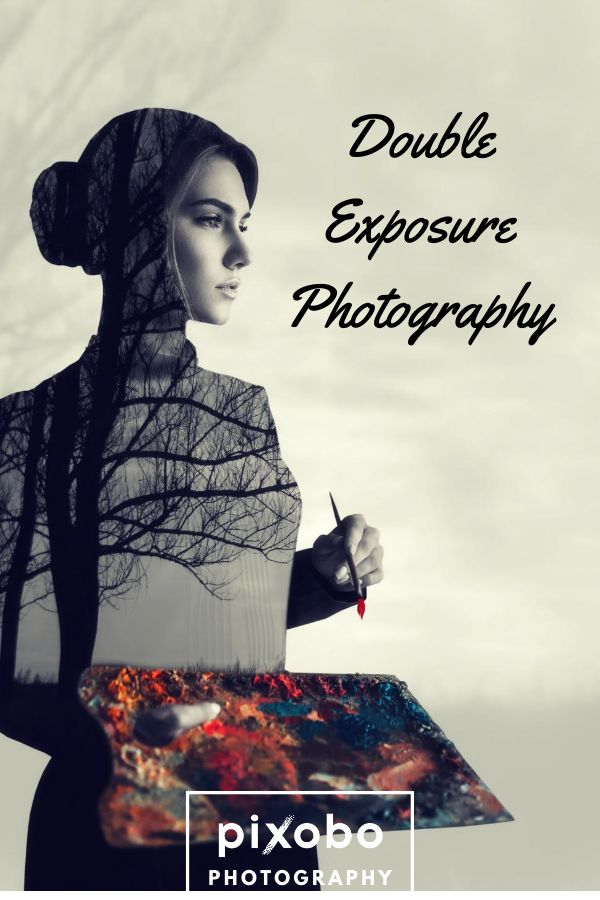 how to do double exposure with dslr