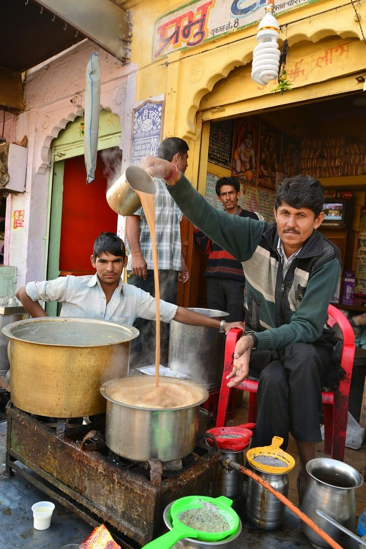 Chai - Prabhu Tea Stall, India